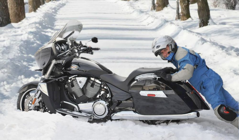 ride safely in winters