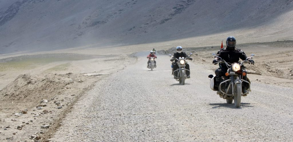 Motorcycle touring roads